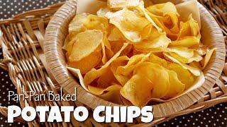 Pari-Pari Baked Potato Chips (Healthy, Crispy yet Delicious) | OCHIKERON | Create Eat Happy :)
