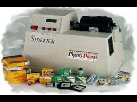 Phototherm Super Sidekick SSK-4V SSK-8R film processor instructional video