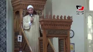 إمام وخطيب مسجد التقوي يلتزم بـ«خطبة الأوقاف» المكتوبة