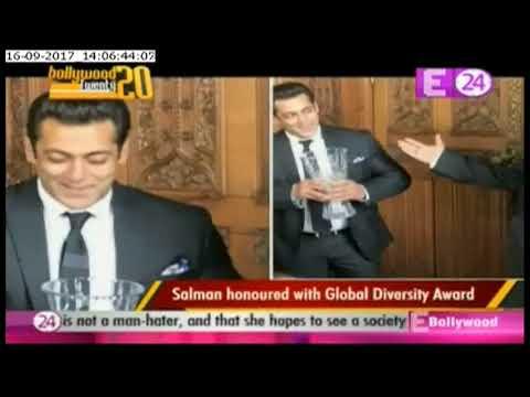 Salman Khan honoured with Global Diversity Award in London