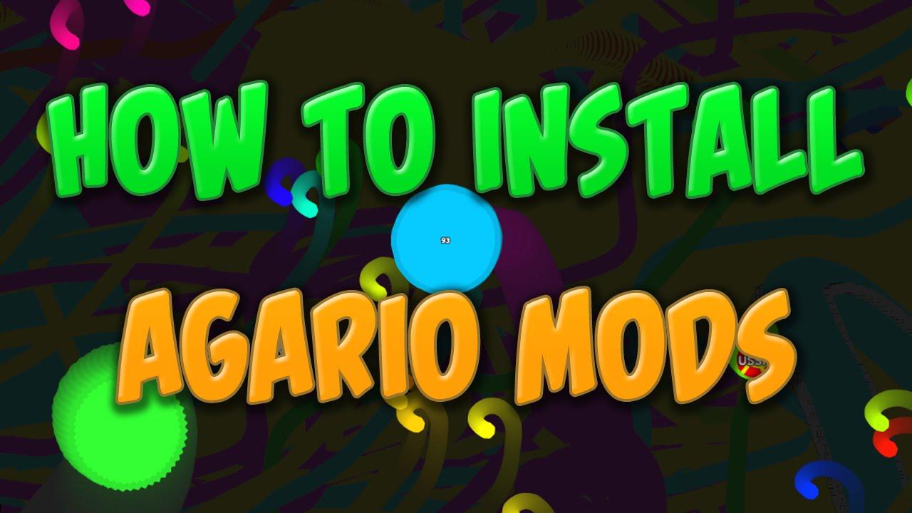 How To Install Agario Mods (agariomods.com) Tutorial
