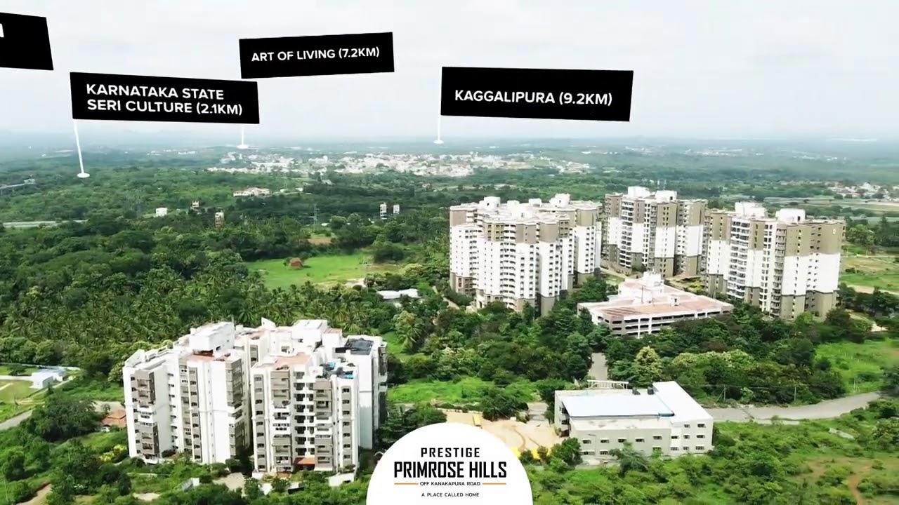 Prestige Primrose Hills  – 1 & 2 BHK Apartments off Kanakapura Road  - Prestige Group