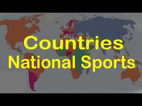 Countries And National Sports - GK For Competitive Exams || GK Adda
