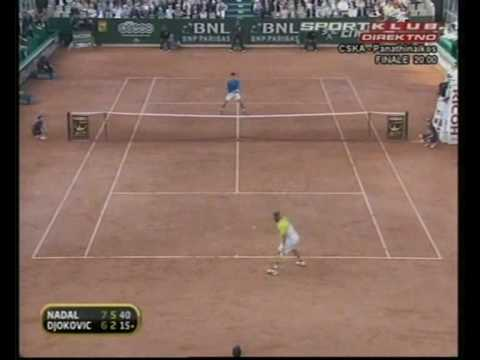 Tennis Highlights HQ ... Nadal-Djokovic , Rome Masters 09