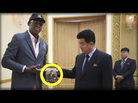 DENNIS RODMAN JUST DID SOMETHING SUPER SECRET FOR TRUMP AND THE MEDIA WON'T SHOW IT