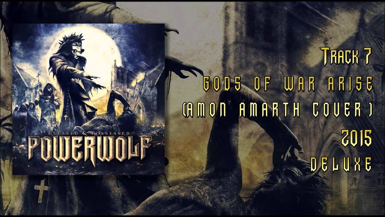 Powerwolf Gods Of War Arise Amon Amarth Cover
