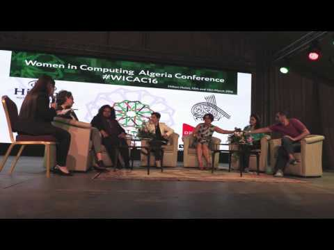ArabWIC Algeria Conference: Panel on Prominent Organizations and Venture Capitalists (VC's)