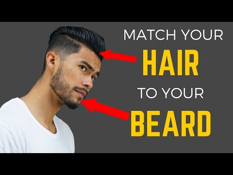 How to Match Your Beard to your Hairstyle