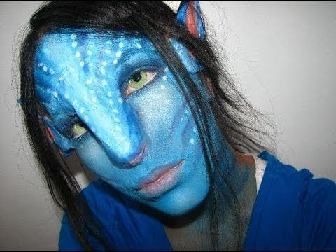 Avatar Makeup Na\'Vi Halloween Prosthetics with Joannadeliliah ...