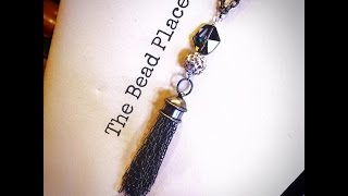 How To Make a DIY Chain Tassel Necklace