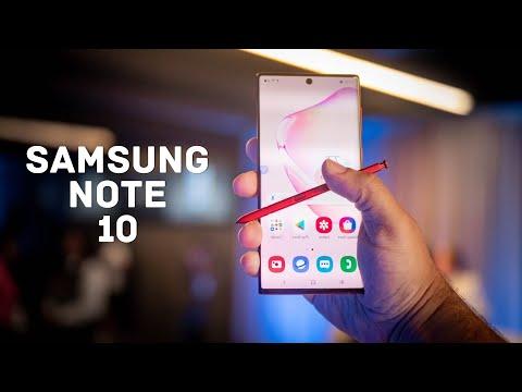 Samsung Galaxy NOTE 10   O'zbek tilida