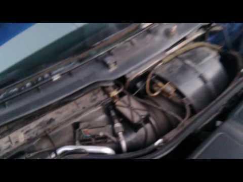 Подмяна на филтър купе на Audi A6 C4 Cabin filter replacement А6 C4