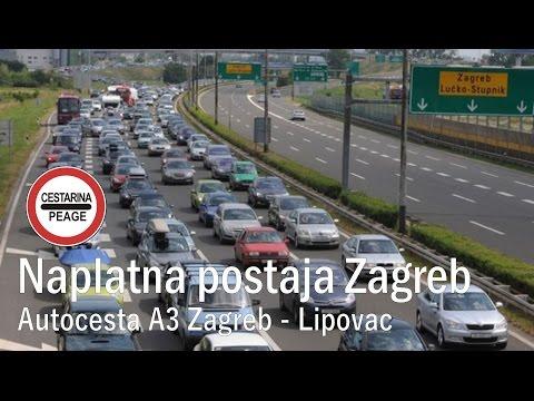 Autocesta A3 Zagreb - Lipovac: Naplatna postaja Zagreb istok