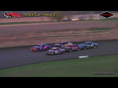 Stock Car Heats - Park Jefferson Speedway - 5/5/18