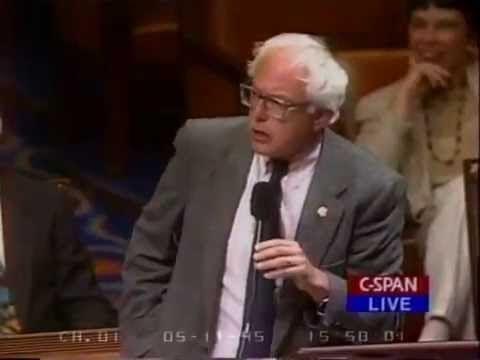 WATCH: Bernie Sanders Defends Gay Soldiers In 1995
