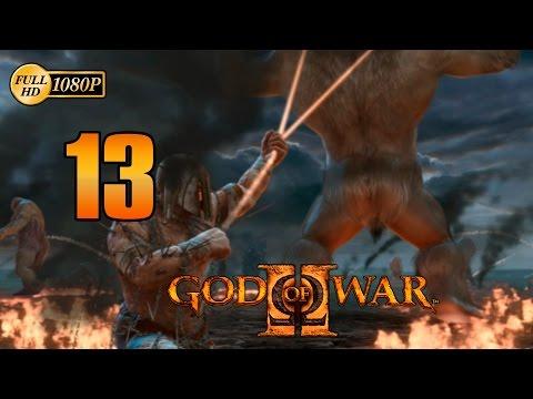 God of War 2 HD Kratos vs Atlas Walkthrough Parte 13 Español Gameplay PS3 1080p