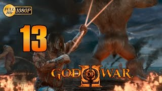 God of War 2 HD Kratos vs Atlas Walkthrough Parte 13 Español Gameplay PS3 1080p