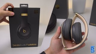 Beats Studio3 Wireless Asphaltgrau: Unboxing, Hands On & Vergleich mit Solo3 – touchbenny