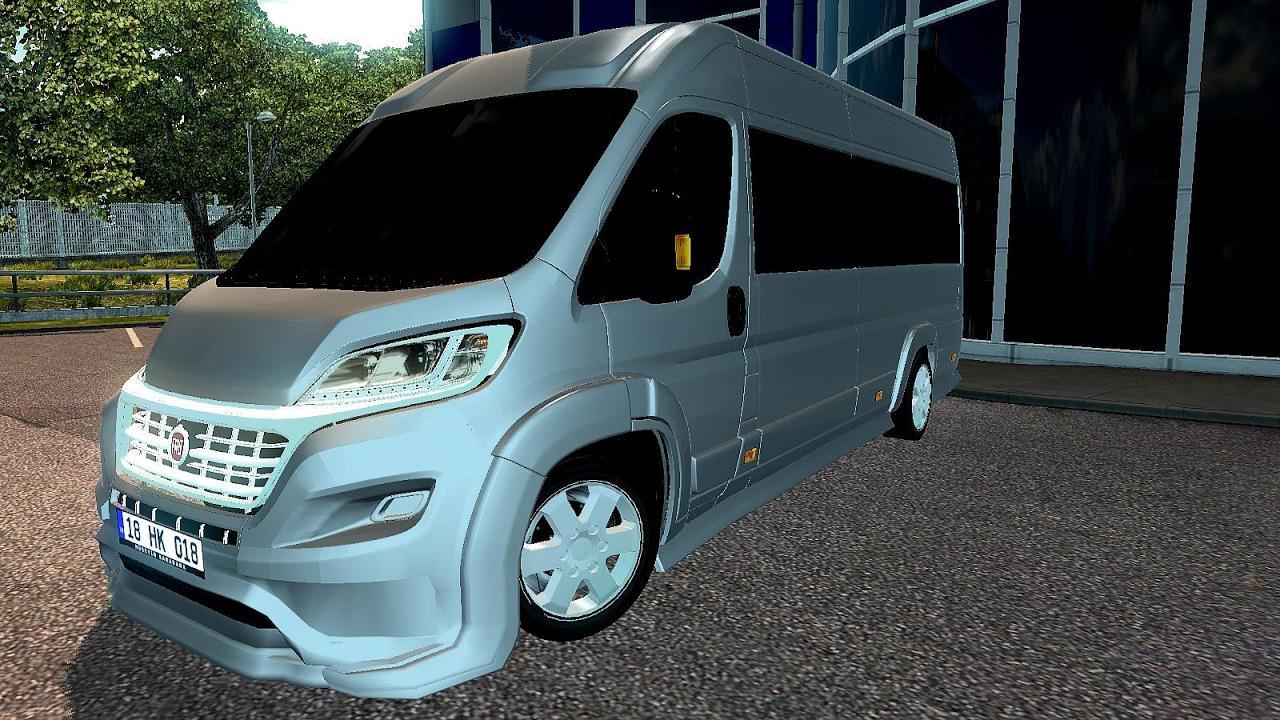 fiat ducato ets2 euro truck simulator 2 youtube. Black Bedroom Furniture Sets. Home Design Ideas