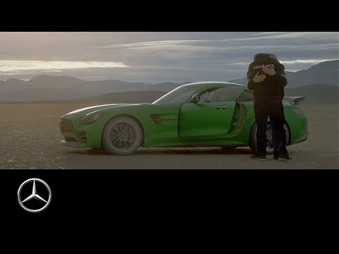 Blind Mechanic Drives Mercedes-AMG GT R at 200 Kmph, Gift from Son - Watch Video