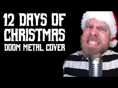 12 Days of Christmas-Doom Metal Cover