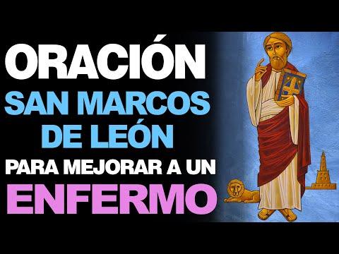 🙏 Oración a San Marcos de León PARA HACER MEJORAR A UN ENFERMO 🤒