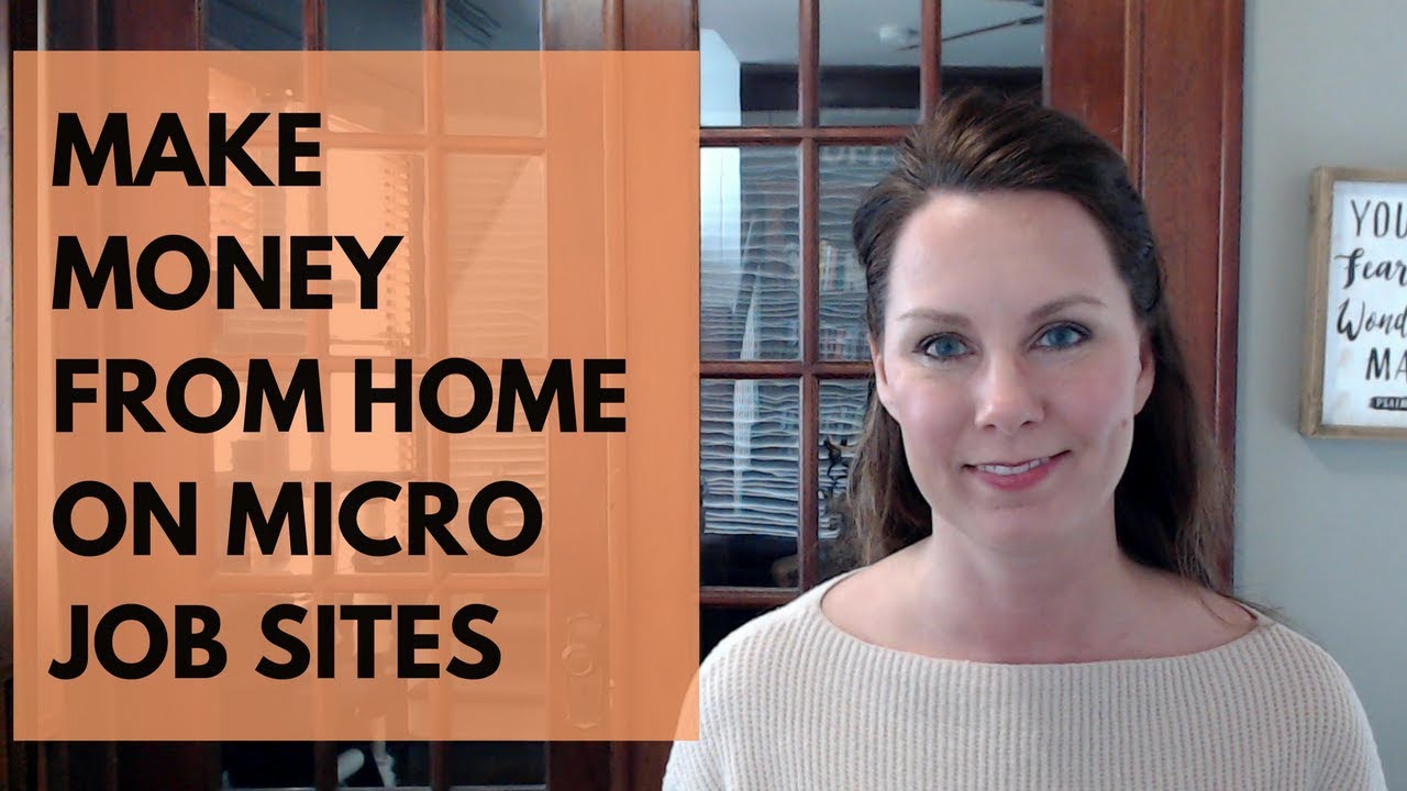 Easy Work at Home Jobs: Micro Job Sites