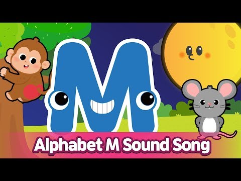 Alphabet M Sound Song L Phonics For English Education