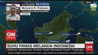Suhu Panas Melanda Indonesia