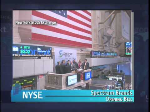 18 March 2010 Spectrum Brands NYSE Euronext Opening Bell