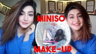 MINISO ONE BRAND MAKE-UP TUTORIAL | GLOSSIPS