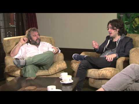 Peter Jackson talks to Edgar Wright, Simon Pegg, Nick Frost about WORLD'S END