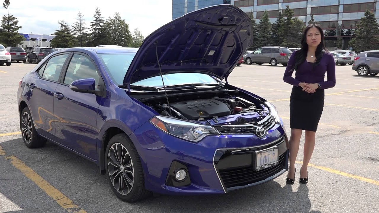 Cool 2016 Toyota Corolla S Walkaround  YouTube
