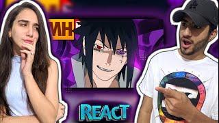 REACT - Tipo Sasuke 😎 (Naruto) | Style Trap | Prod. Sidney Scaccio | MHRAP