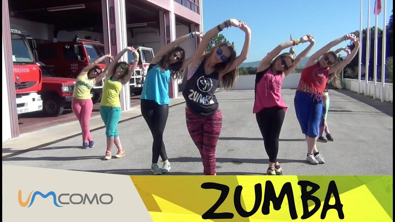 Aula De Zumba Com Musica Portuguesa Youtube