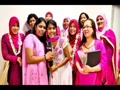 Malaysia Turns Pink with RC Chennai Galaxy - BW