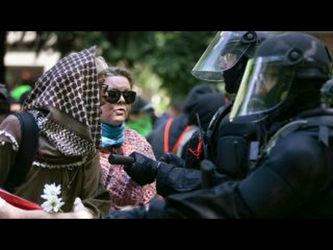 Thumbnail: 14 arrested, weapons seized after violent Portland protests