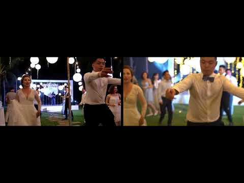 Vietnam Wedding with one shot dance (extended version - 2 screens)