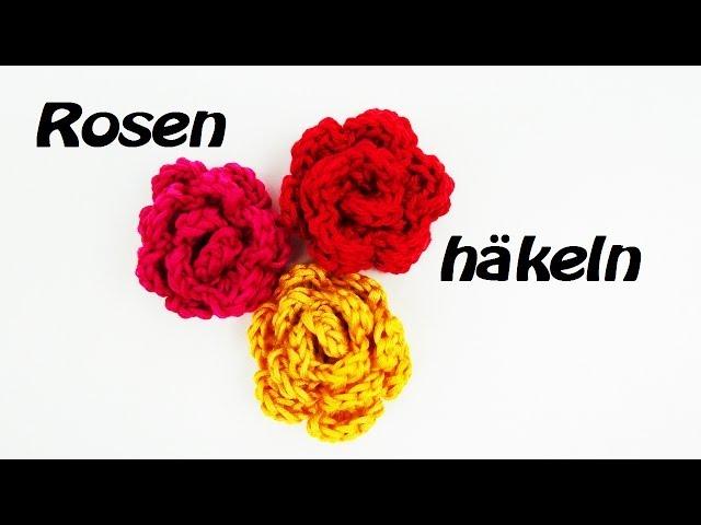 Rose Häkeln Für Anfänger Mit Eva Als Accesoires An Eurer Mütze