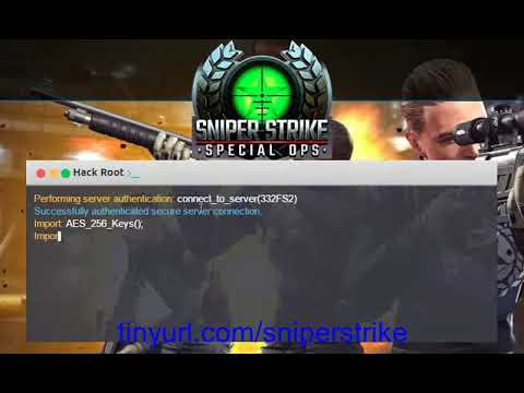 Sniper Strike Special Ops Gold Cash Cheats iOS Android