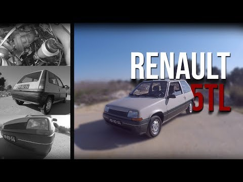 Sleeper Renault 5 TL + GT TURBO ENGINE - Portugal Stock and Modified Car Reviews