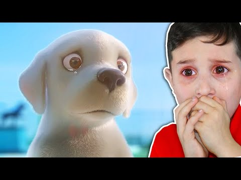 KID REACTS TO SADDEST ANIMATION EVER.. (TRY NOT TO CRY CHALLENGE)