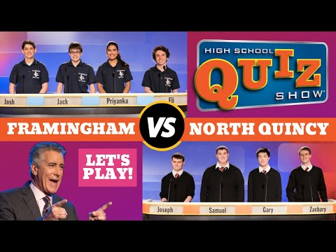 High School Quiz Show - Framingham vs. North Quincy (603)