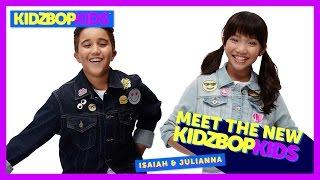 Meet The New KIDZ BOP Kids - Isaiah & Julianna