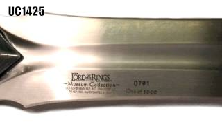 The Complete United Cutlery Collection Checklist: Lord of the Rings Sting to The Hobbit Orcrist