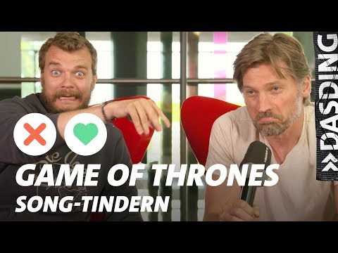 Tindern: Game of Thrones – Jaime Lannister und Euron Greyjoy  GoT Ende = Karotte!  DASDING