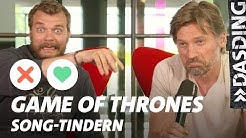 Song-Tindern: Game of Thrones – Jaime Lannister und Euron Greyjoy - GoT Ende = Karotte! | DASDING