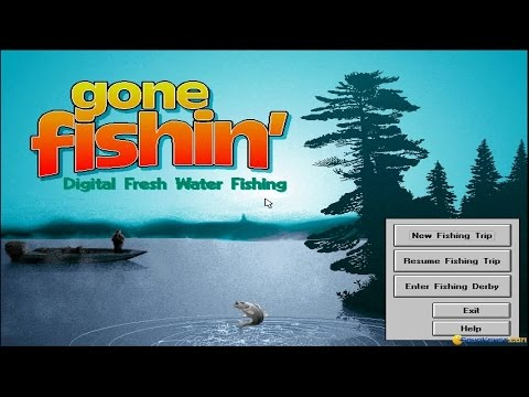 Gone fishin 39 gameplay pc game 1994 youtube for Gone fishing game