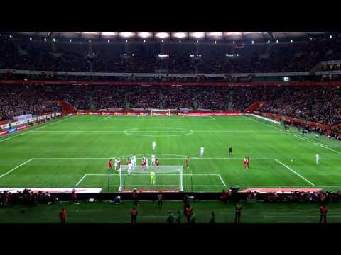 Polska Armenia 2:1 2016 Robert Lewandowski Bramka Ostatnia 95 Minuta.