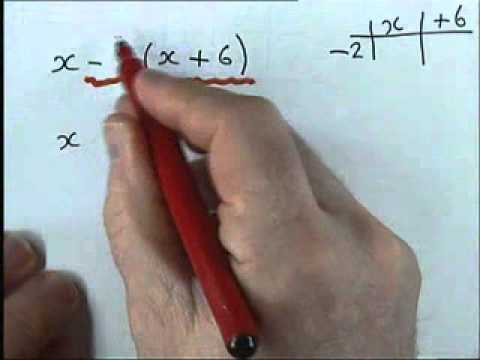 How to do Algebra    Part 1 2   Harder Expanding Brackets
